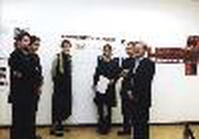 Jury mit Preisträgerin