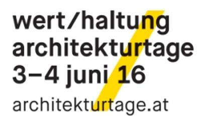 Architekurtage 2016