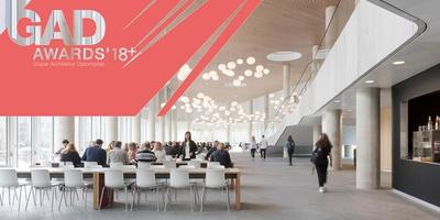 GAD Awards 18+ Evening Lecture Lone Wiggers | C.F. Møller, Foto: Mærsk Tower