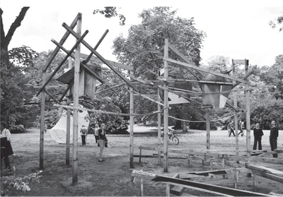 """Raumstruktur"" WERKGRUPPE GRAZ – Forum Stadtpark, 1967"