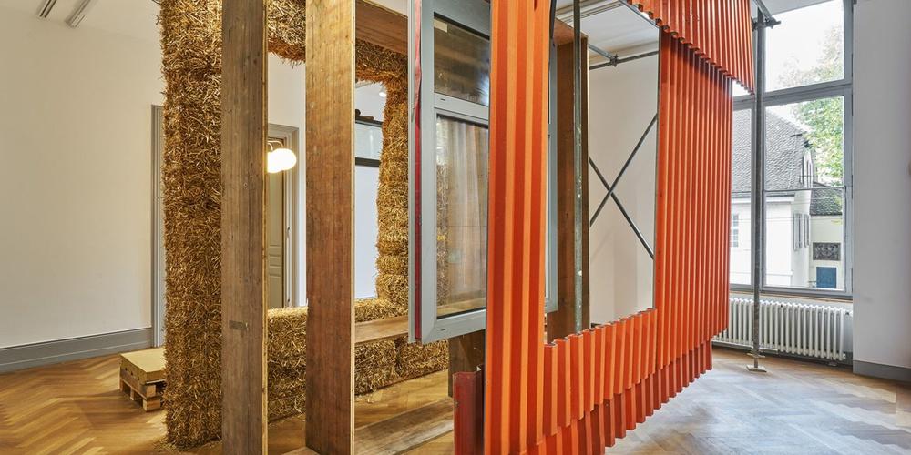 Fassaden-Mock-Up K118, Ausstellung S AM