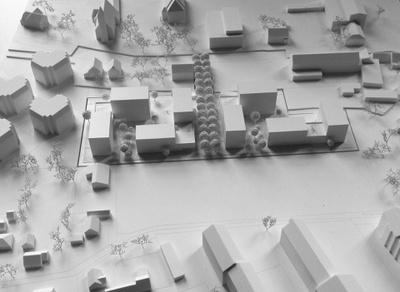 Modell Wohnbau Bärnbach Zentrum
