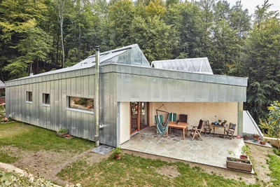 Einfamilienwohnhaus Holz- und Strohbauweise