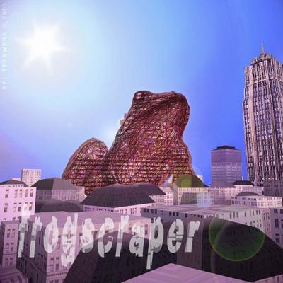 Frogscraper, Figurative Architektur, 2003